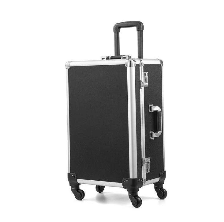 厂家定制铝合金工具箱手提箱化妆箱航空箱加工定制